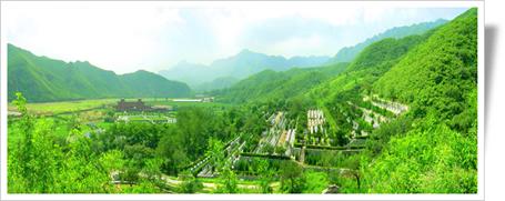 凤凰山陵园全景图
