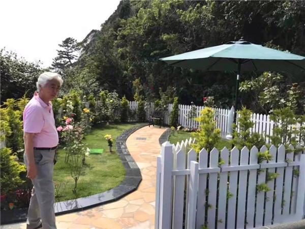 玫瑰园的精髓在于节地葬和环保葬